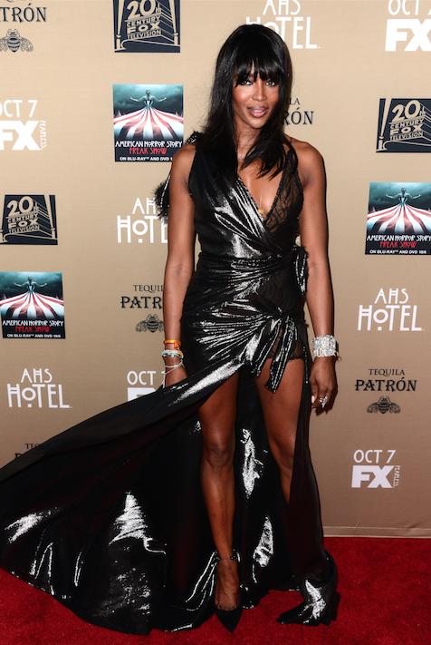 Naomi Campbell le 3 octobre 2015
