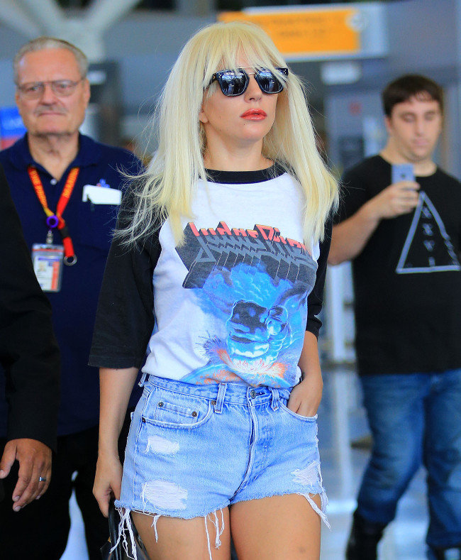 Lady Gaga à New-York le 6 octobre 2015
