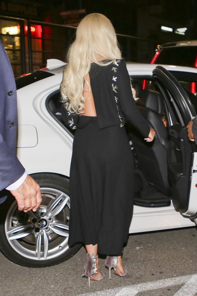 Photos : Lady Gaga se la joue icône glamour à Vancouver !