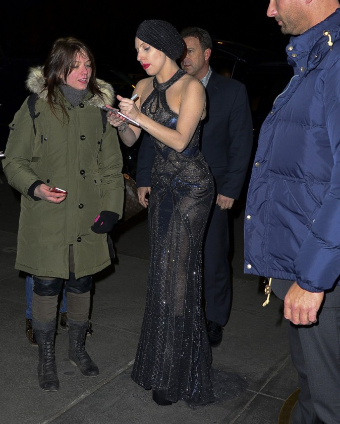 Lady Gaga à New York, le 12 novembre 2013.