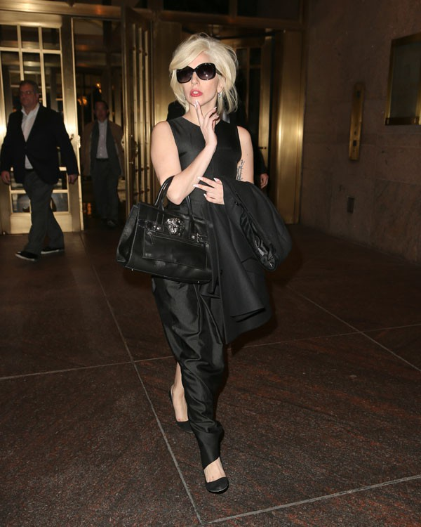 Lady Gaga à New-York le 6 novembre 2013