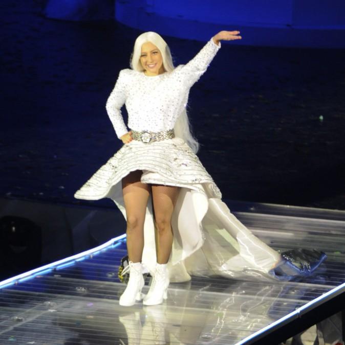 Lady Gaga à Amsterdam le 24 septembre 2014
