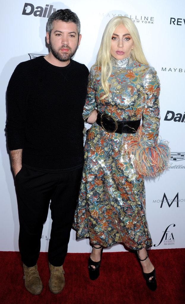 Lady Gaga et son styliste Brandon Maxell