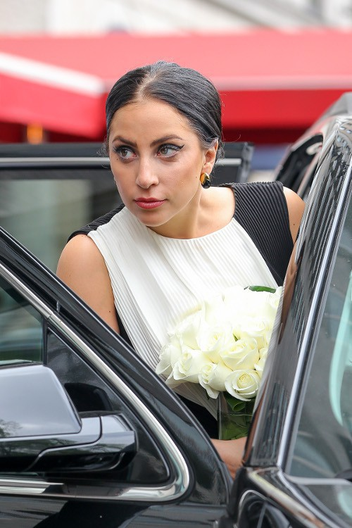 Lady Gaga à New-York le 10 mai 2015