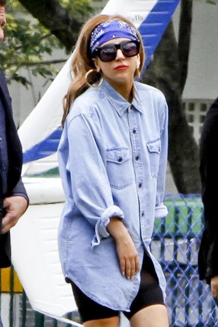 Lady Gaga à Rio de Janeiro, le 7 novembre 2012.