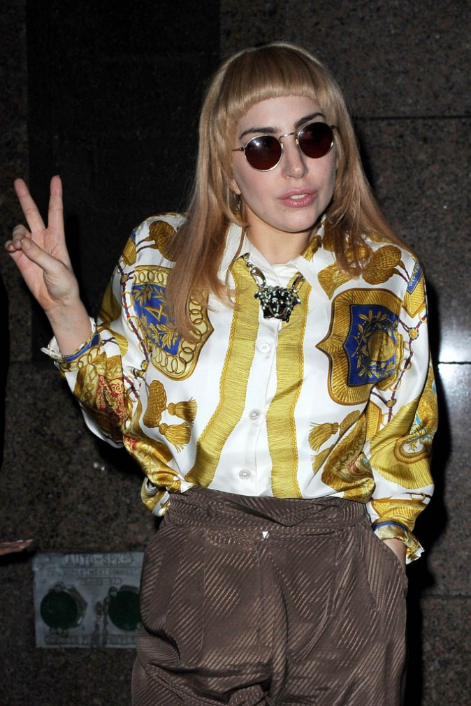 """Photos : Lady Gaga : un look """"mémérisant"""" ?"""