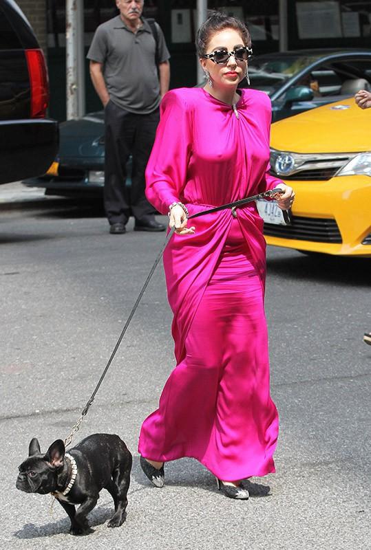 Photos : Lady Gaga : une reine d'Egypte bien dans ses baskets à New York !