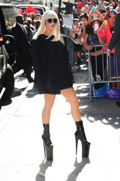 Lady Gaga à New York, le 9 septembre 2013.