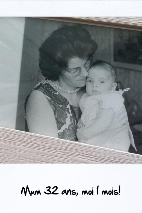 Laurence Boccolini et sa mère