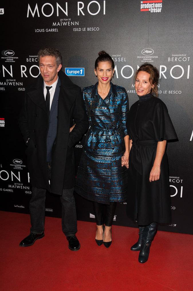 Vincent Cassel, Maïwenn et Emmanuelle Bercot le 12 octobre 2015