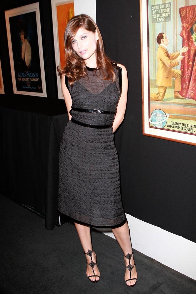Laetitia Casta à l'avant-première d'Arbitrage à New-York le 12 septembre 2012