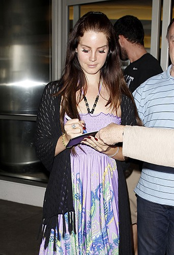 Lana Del Rey à Los Angeles le 16 novembre 2013