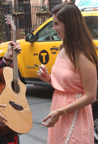 Lana Del Rey à New York le 5 septembre 2014