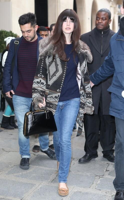 Lana Del Rey à Paris, le 14 novembre 2012.