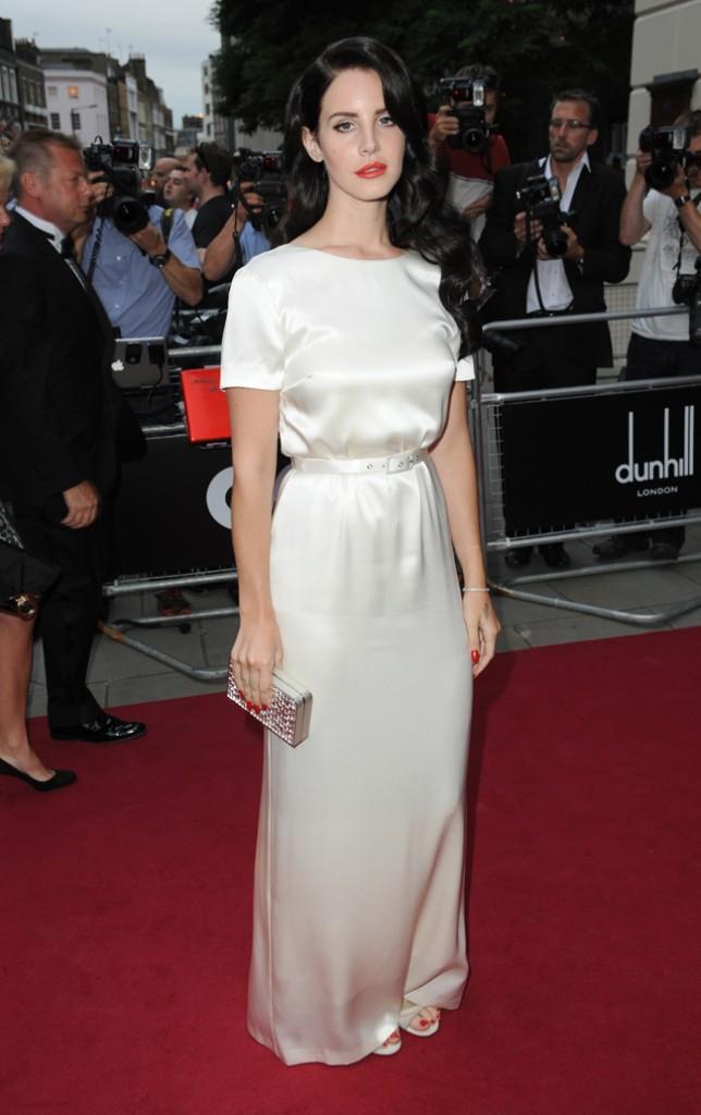 Lana Del Rey le mardi 4 septembre 2012 à Londres