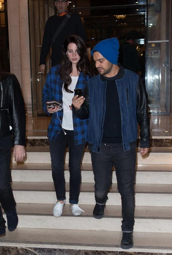 Lana Del Rey à Paris le 27 septembre 2012