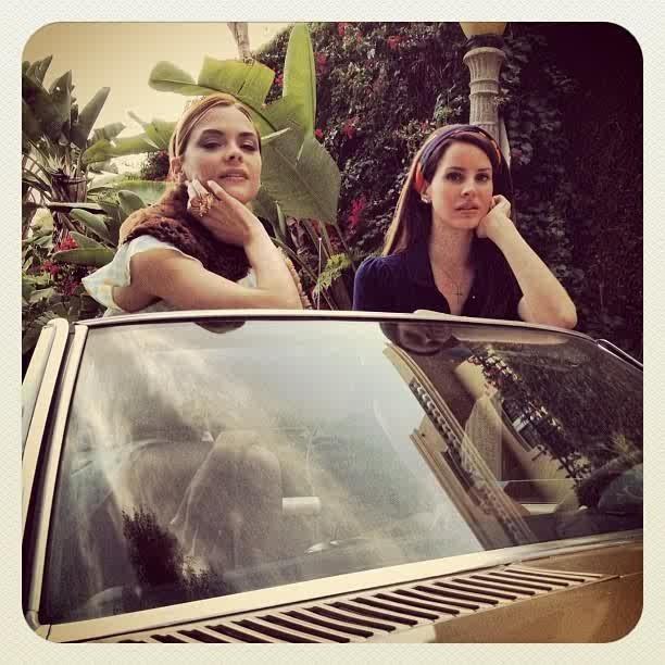 Lana et Jaime, égéries glam !