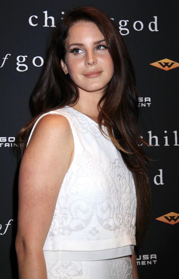 Lana Del Rey à New-York le 30 juillet 2014