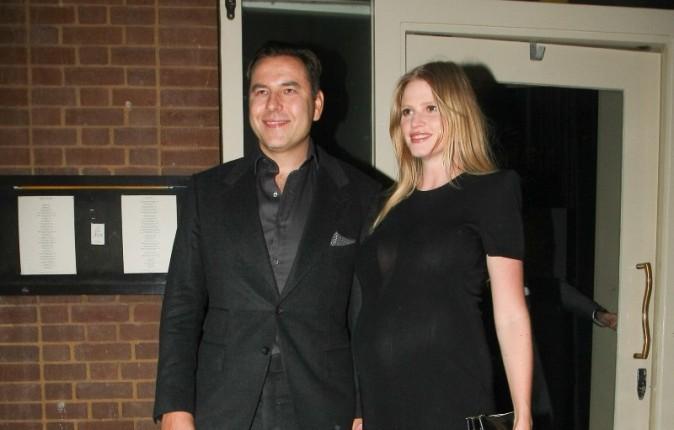 Lara Stone le 29 janvier 2013 à Londres
