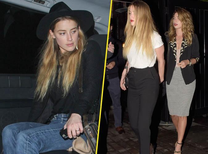 Amber Heard le 25 août 2015