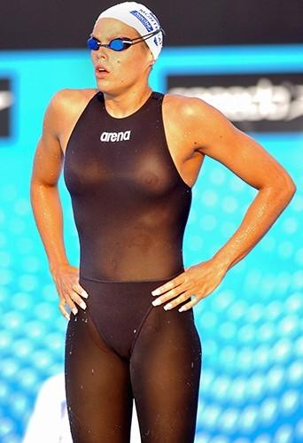 A Montréal en 2005 pour les Championnats du monde. Elle remportera la médaille d'or !