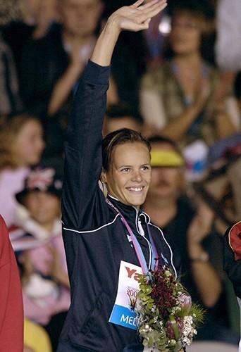 Laure grand gagnante en 2007 aux Championnats de Melbourne !