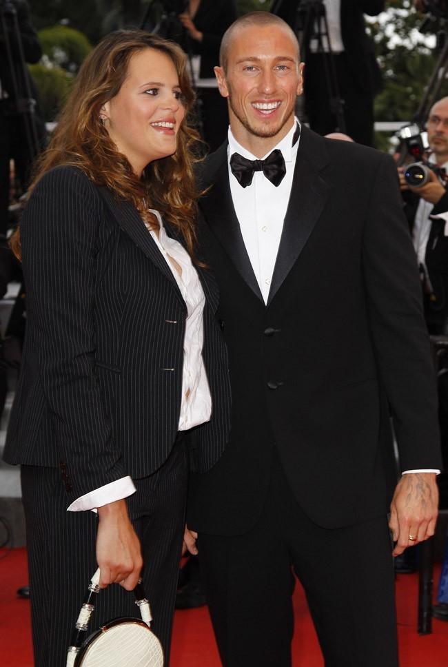 Juste après la naissance de Manon, au Festival de Cannes
