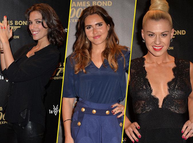 Laurie Cholewa, Joyce Jonathan, Katrina Patchett : femmes fatales pour inaugurer l'exposition James Bond !