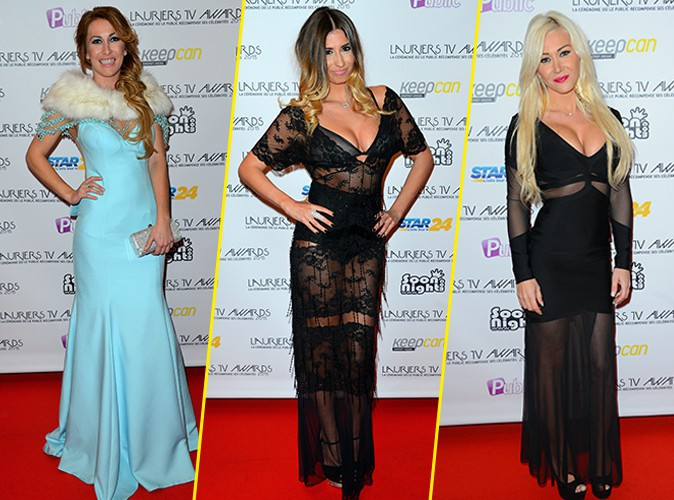 Photos : Lauriers TV Awards 2015 : Gaëlle, Martika, Julie... Toutes ravissantes et sexy sur le red carpet !