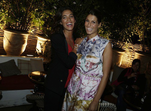 Laury Thilleman et Laurie Cholewa à la soirée Make Up For Ever le 24 septembre 2014 !