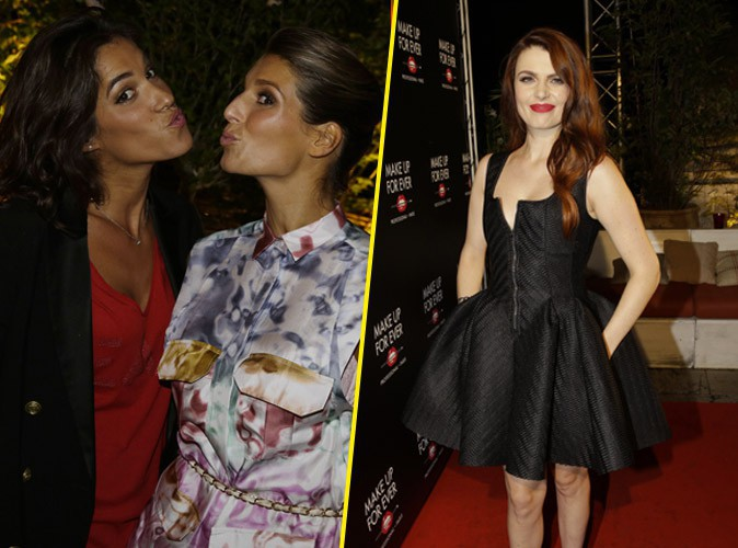Photos : Laury Thilleman, Laurie Cholewa, Elodie Frégé : elles font le show à la soirée Make Up For Ever !
