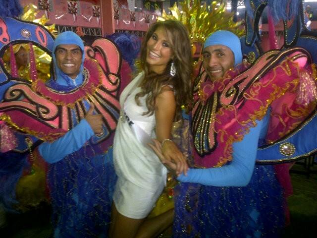 Miss France 2011 est tombée amoureuse du Brésil