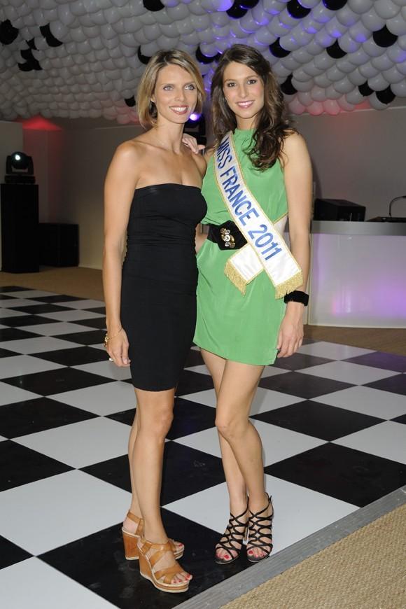 Avec Sylvie Tellier, elle se tient à carreaux !