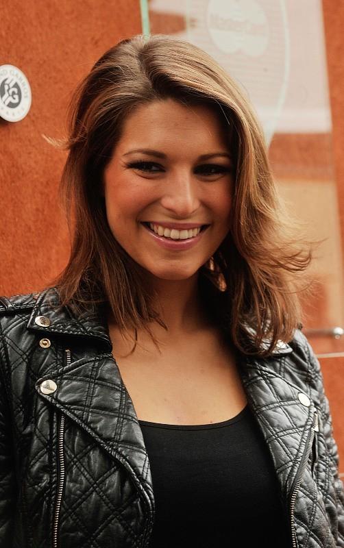 Laury Thilleman, Paris - Roland Garros, 31 mai 2013.