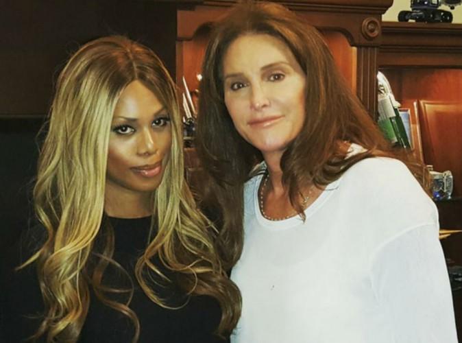 Laverne Cox et Caitlyn Jenner : les icônes transgenres heureuses de se rencontrer enfin !