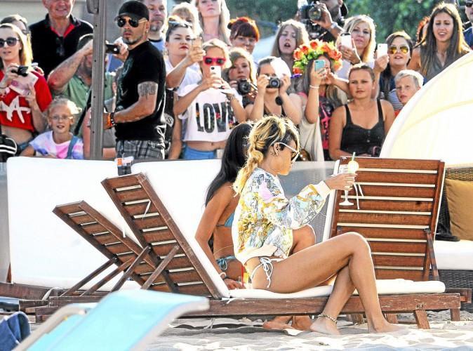 Rihanna : son p'tit cocktail bière-foot...