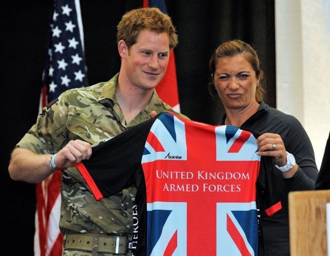 Le Prince Harry a donné un discours pour l'inauguration des Warrior Games 2013