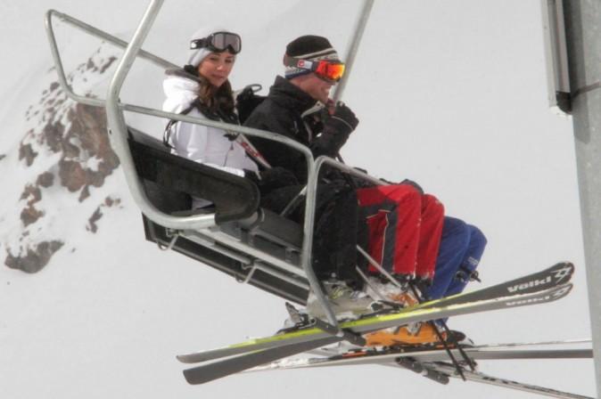Si si c'est bien eux au ski !