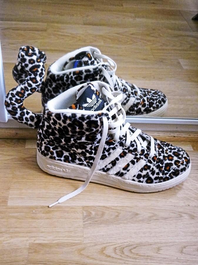 Jeremy Scott Leopard Homme