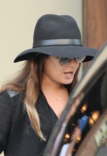 Lea Michele à New York le 15 juillet 2014