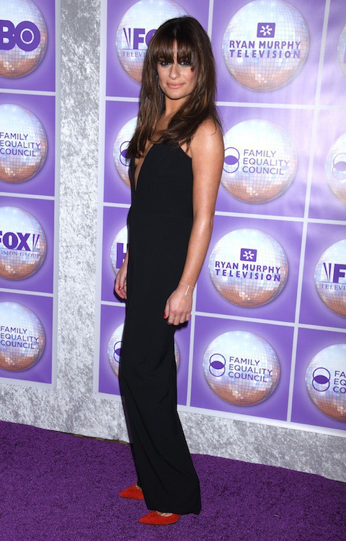 Photos : Lea Michele : divine pour un retour fracassant sur tapis rouge !