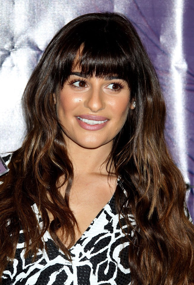 Lea Michele en dédicaces à Los Angeles le 8 mars 2014