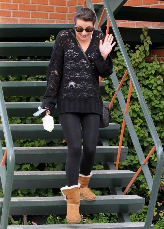 Lea Michele le 4 décembre 2012 à Santa Monica