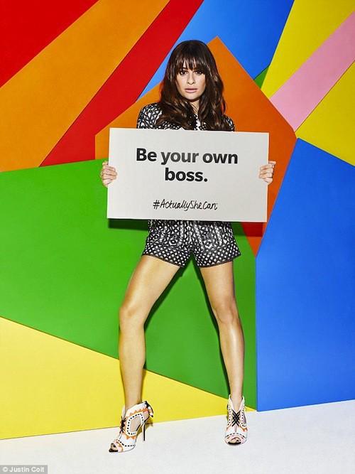 Photos : Lea Michele, engagée et féministe !