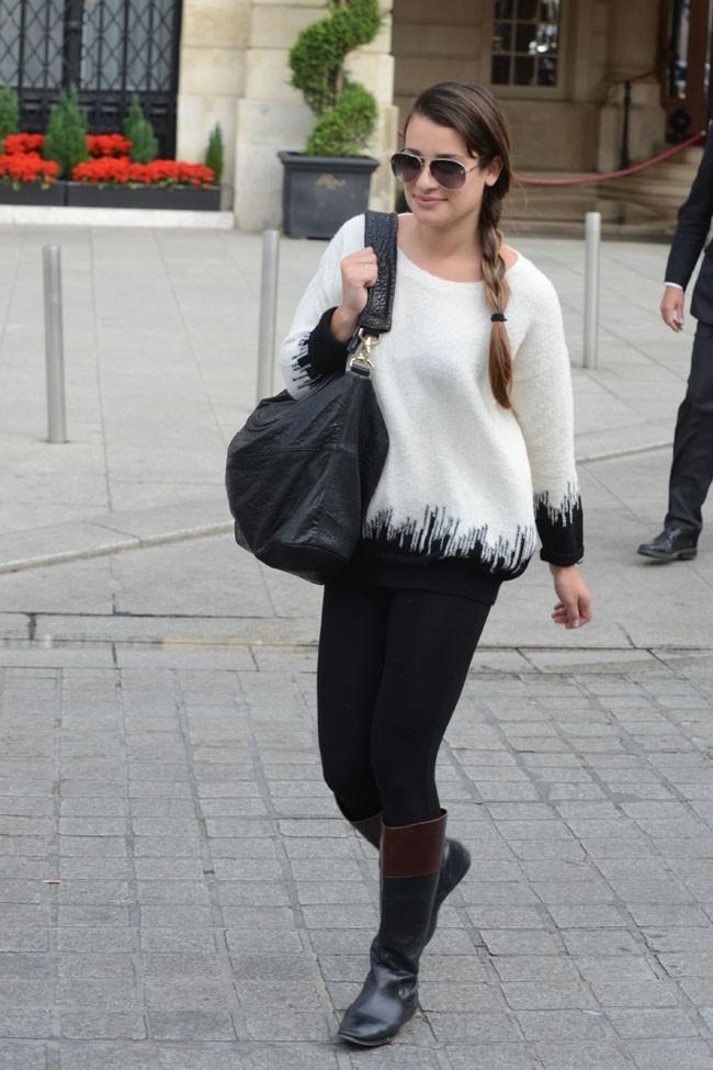 Lea Michele le 3 juillet 2012 à Paris