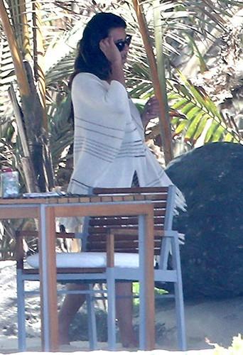 Lea Michele et Cory Monteith au Mexique le 7 mai 2013