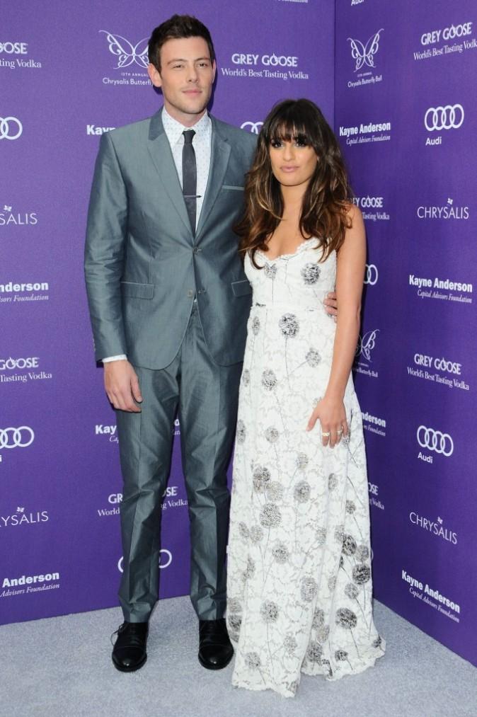 Cory Monteith et Lea Michele : toujours aussi soudés !