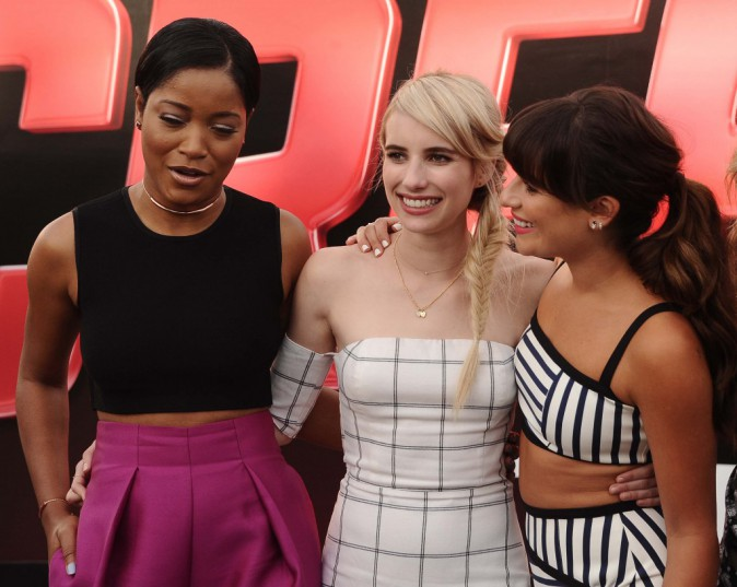 Keke Palmer, Emma Roberts et Lea Michele le 12 juillet 2015 le 12 juillet 2015
