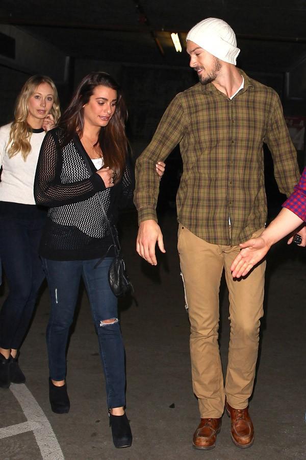 Lea Michele et Matthew Paetz