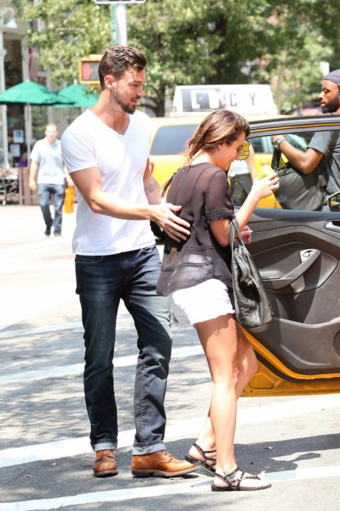 Photos : Lea Michele et Matthew Paetz : ils ne se quittent plus d'une semelle !